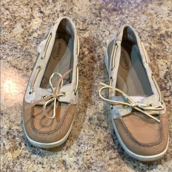 Sperry Shoes - Super cute Sperrys !! Gold glitter
